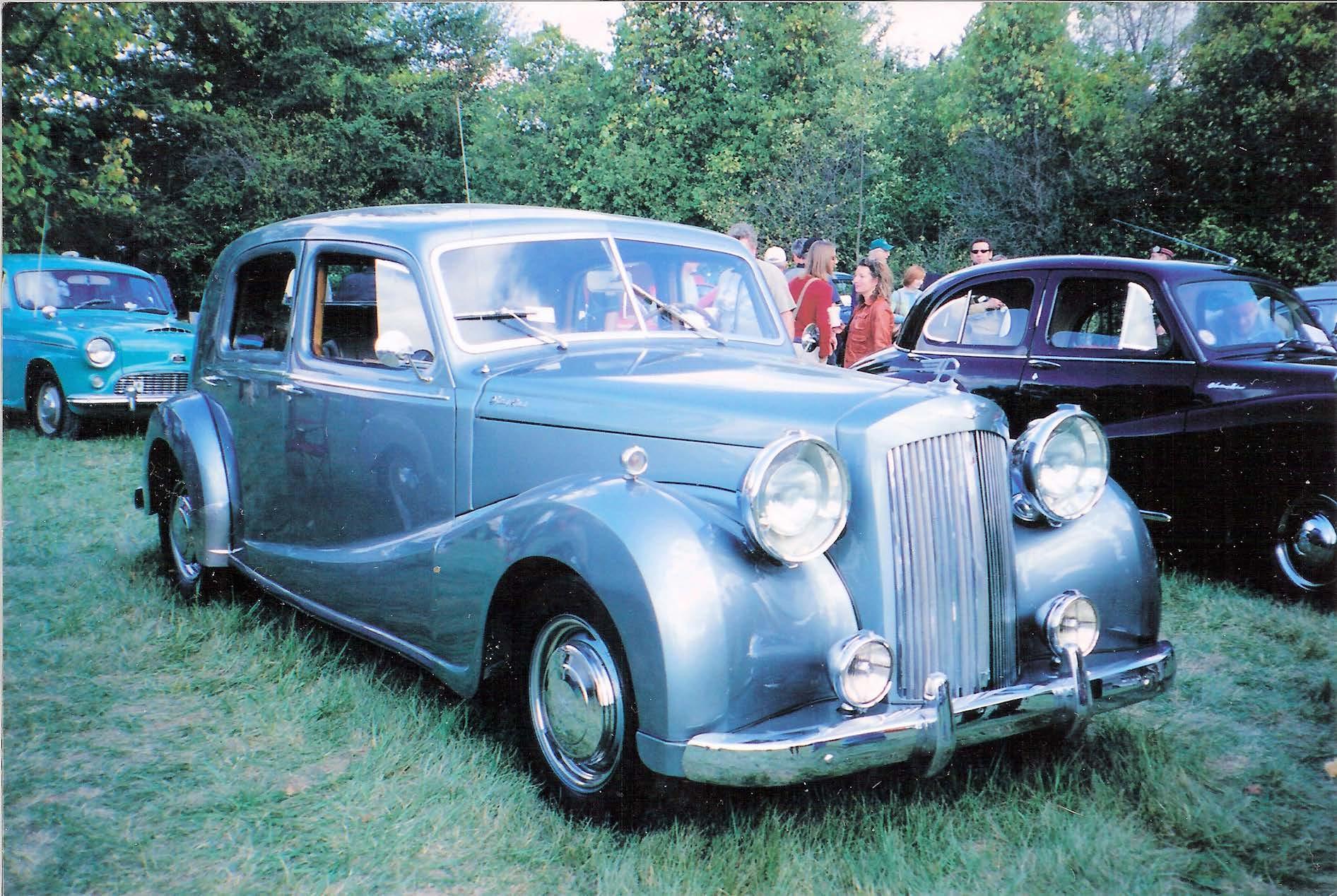 Austin Sheerline 125 1948