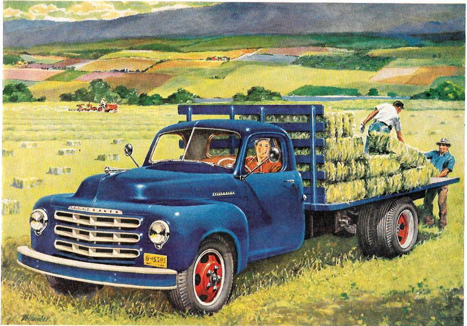 1952 Studebaker  Trucks – Norm Mort – KEEP ON TRUCKIN'