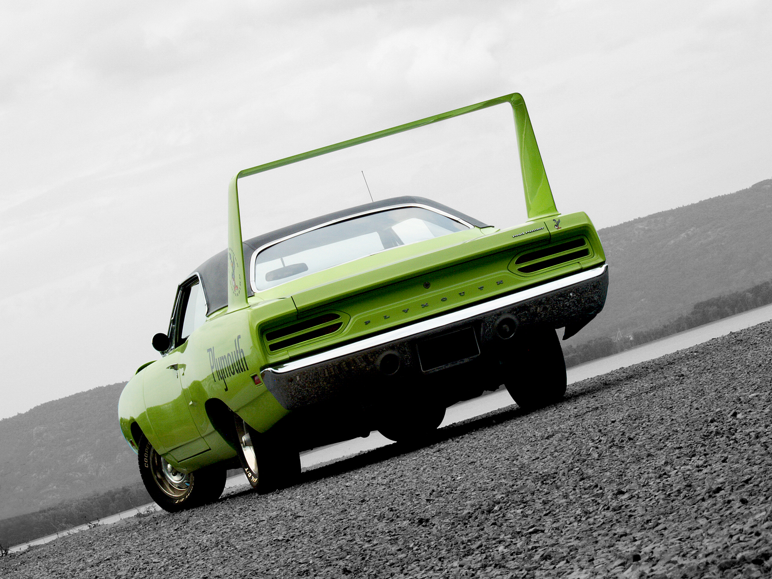 1970 Plymouth Road Runner Superbird By Clive Branson